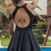 紋身貼紙 花臂紋身 刺青 刺青貼 紋身貼 英文字母貼紙 手臂紋身 水轉印 防水 原宿 貼紙 8075