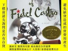 二手書博民逛書店英文原版:the罕見tragedy of fidel castr