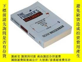 二手書博民逛書店創業者的窘境罕見英文原版 The Founder s Dilemmas 進口圖書 Noam Wasserman 諾