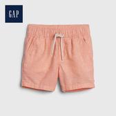 Gap 嬰兒 活力亮色鬆緊腰短褲 542947-橙色