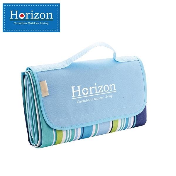 【Horizon 天際線】防潮沙灘野餐墊 - 附防水收納袋(五種花色任選)