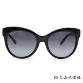 GUCCI 墨鏡 GG3760FS 2ENHD (黑) 貓眼大框 太陽眼鏡 久必大眼鏡