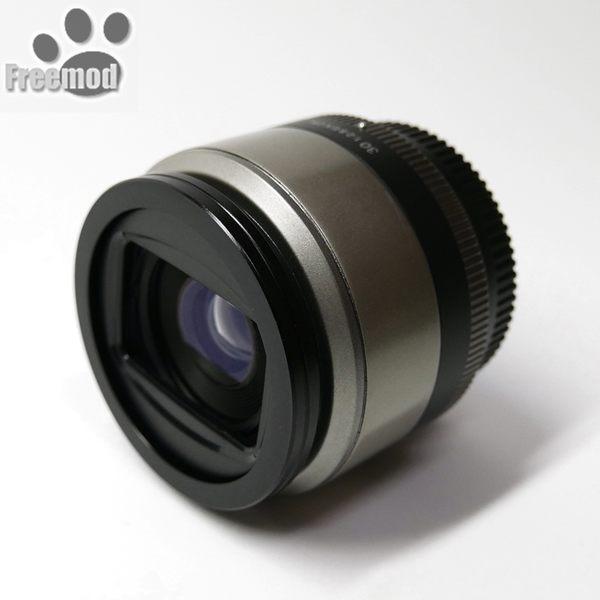 又敗家@Freemod半自動鏡頭蓋X-CAP2 52mm鏡頭蓋適Nikon 1 32mm f/1.2 50mm f/1.8D f/1.4D AF-S DX 55-200mm f/4-5.6G VR II 1: