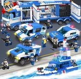 積木 兒童拼裝玩具益智5歲男孩子7智力車8女9兼容軍事城市警察XW 特惠免運