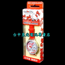 【日本製】日本限定 Hello Kitty 鑽邊 手錶 糖果錶 紅色 泰迪熊心之旋律【MJSR-M03】台中星光電玩