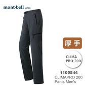 【速捷戶外】日本 mont-bell 1105544 NOMAD 男彈性保暖長褲(黑色) .登山褲.旅遊長褲,保暖褲,montbell