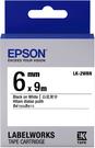 LK-2WBN EPSON 標籤帶 (白底黑字/6mm) C53S652401