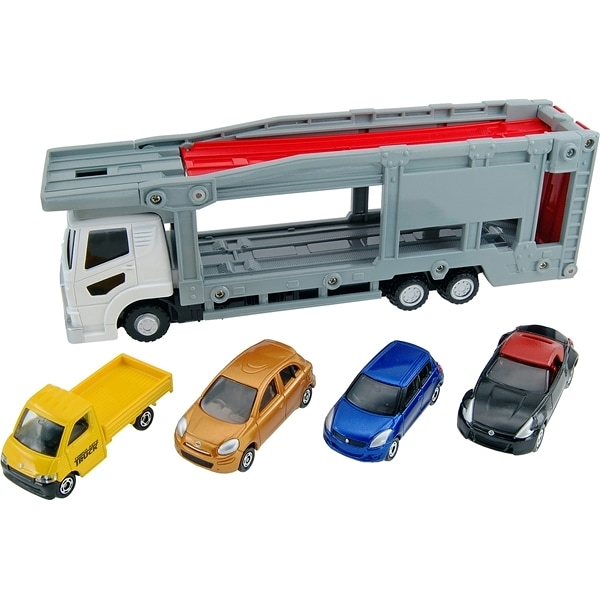 《 TAKARA TOMY 》新TM汽車運輸車 / JOYBUS玩具百貨