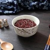 日式餐具陶瓷碗家用吃面吃飯情侶小飯碗兒童湯盆面條大碗學生湯碗 草莓妞妞