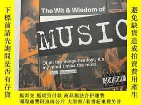 二手書博民逛書店The罕見Wit and Wisdom of Music 音樂的機智與智慧 英文版Y259256 未知 Hou