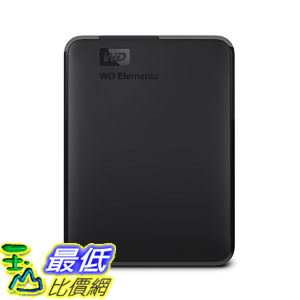 外置硬碟 WD 2TB Elements Portable External Hard Drive - USB 3.0 - WDBU6Y0020BBK-WESN