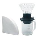 金時代書香咖啡 HARIO 浸漬式濾杯手沖壺組 SSD-5012-B