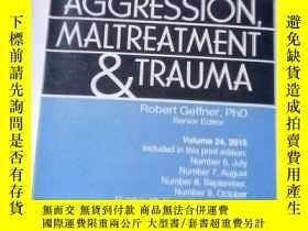 二手書博民逛書店Journal罕見of Aggression, Maltreat