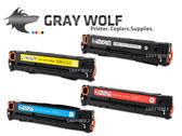 【速買通】超值四入-HP CF210X/CF211A/CF212A/CF213A 相容彩雷環保碳粉匣 適用M251/M276NF/NW/LaserJet Pro 200