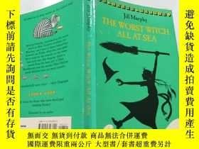 二手書博民逛書店The罕見Worst Witch All At Sea:非常壞的女巫在海.Y200392