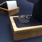 戒指 925純銀-典雅流行生日聖誕節交換禮物女開口戒73ic4【時尚巴黎】