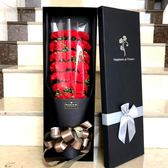 聖誕好物85折 母親節生日禮物女生送媽媽仿真肥香皂康乃馨玫瑰花束禮盒假花玫瑰