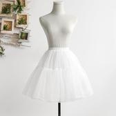 裙撐lolita日常暴力無骨軟紗撐洛麗塔軟妹蓬蓬裙cosplay半身襯裙新品