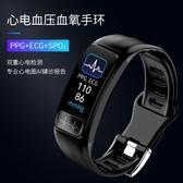 特惠智慧手環人工智慧手環心電圖監測儀多功能運動手表計步器LX