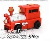 跟筆車玩具自動創意沿線車汽車畫線玩具車智慧循跡坦克抖音同款 布衣潮人
