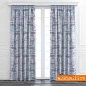 童話小屋防蹣抗菌遮光窗簾 寬290x高210cm