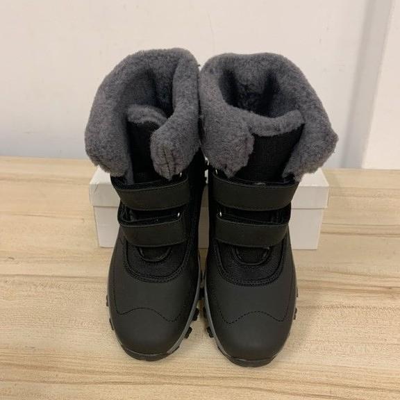 百搭時尚內刷毛雪靴雪地靴短靴(37-40號/777-7453)