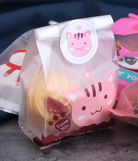烘焙包裝餅干包裝袋50個