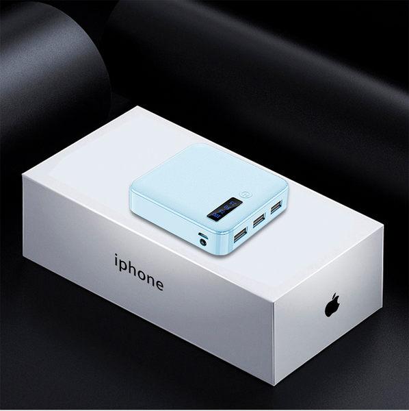 迷你行動電源 超小便攜 大容量毫安超薄小巧小米oppo華為vivo蘋果三星通用移動電源