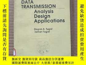 二手書博民逛書店data罕見transmission analysis design applications(P602)Y1