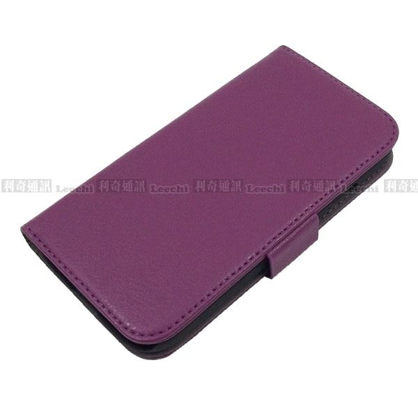 【Monmart】Samsung i9500 Galaxy S4 左右開錢包支架皮套