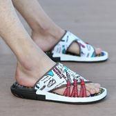 夏季拖鞋男一字拖潮流男士沙灘鞋防滑人字拖韓版涼拖鞋夏天男涼鞋