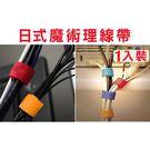 BO雜貨【SV1265-1】日式1個入魔術收納整理帶理線帶 電線收納 電線集線