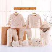 嬰兒衣服禮盒套裝送禮高檔初生寶寶滿月回禮新生兒棉質秋冬季棉衣 免運直出 聖誕交換禮物