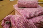 【新帛毛巾】彩條毛巾*2+方巾*2+枕巾*2