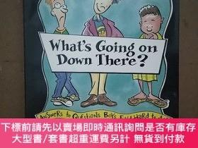 二手書博民逛書店What s罕見Going On Down There?: Answers To Questions Boys F