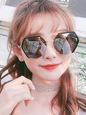 新款偏光墨鏡女韓版潮圓臉防紫外線太陽鏡街拍眼鏡