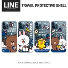 LINE正版授權 旅行系列保護殼 蘋果iPhone12/12pro/12proMax TPU透明款 軟式手機保護殼