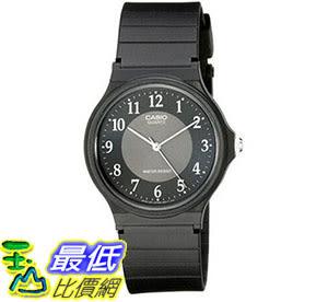 [美國直購] 手錶 Casio Men s MQ24-1B3 Watch with Black Rubber Band