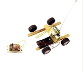 科技小制作 手工diy 科普教具 少兒益智玩具 模型材料 遙控賽車(遙控賽車+快幹膠)─預購CH587