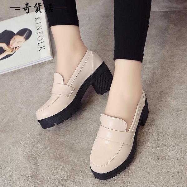 日系學生鞋女仆鞋JK制服鞋cos萬用洛麗塔lolita皮鞋黑色漆皮女鞋