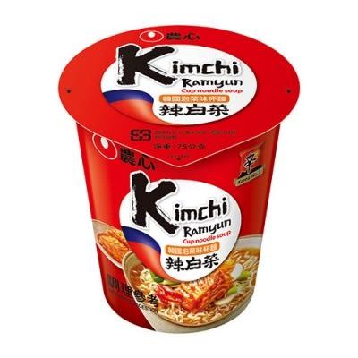韓國農心泡菜味杯麵(75g)