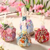 【雙十二】秒殺日本和風兔子音樂盒旋轉八音盒送女友閨蜜情侶生日禮物igo gogo購