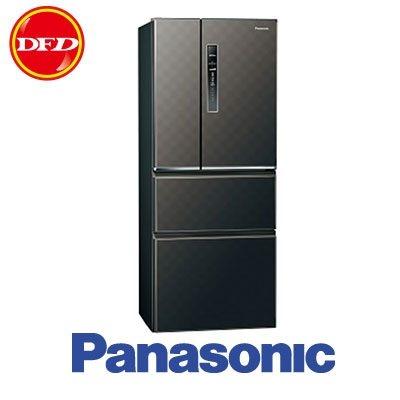 PANASONIC 國際牌 變頻四門冰箱 NR-D500HV 絲紋灰/絲紋黑 500公升 公司貨