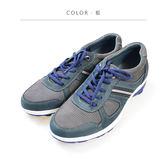 Waltz-磨砂皮復古休閒男鞋622106-07藍