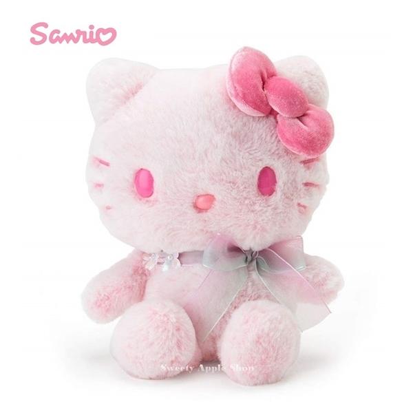 日本限定 三麗鷗  HELLO KITTY 凱蒂貓  櫻花版 絨毛玩偶娃娃 20cm