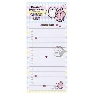【金玉堂文具】卡娜赫拉 Check List便條紙 摸頭 敦景 KS11691D