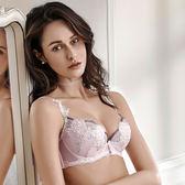 【LADY】薔薇蜜語系列 B-F罩內衣(粉嫩紫)