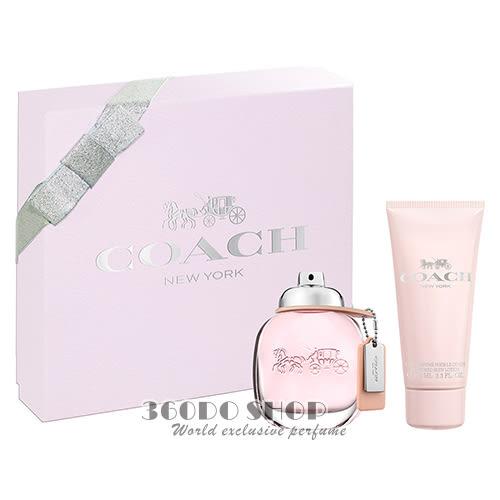 【COACH】New York 時尚經典 女性淡香水 禮盒 (淡香水50ml+身體乳100ml)