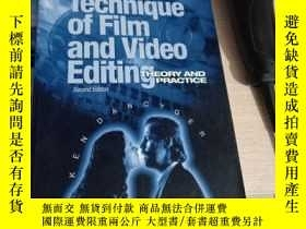 二手書博民逛書店The罕見Technique of Film and Video