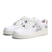 NIKE 休閒鞋 AF1 AIR FORCE 1 LOW THE GREAT UNITY 白 塗鴉 雷射 男 (布魯克林) DM5447-111